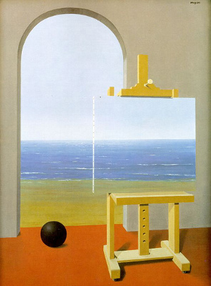 René Magritte - The Human Condition